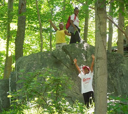Girls-Hiking-Fun